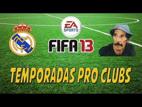 FIFA 13 - Temporadas Pro Clubs