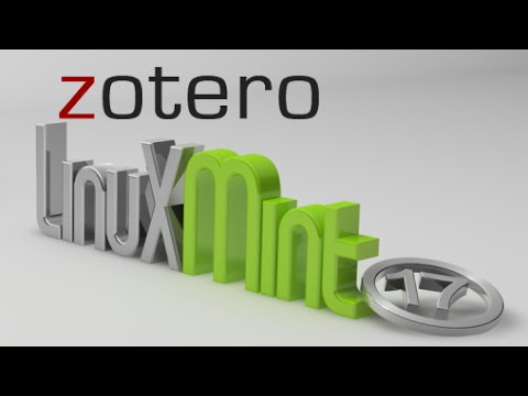 Install Zotero Standalone Version ( Reference Management Software)  in Linux Mint Via PPA