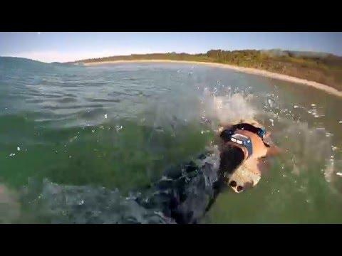 Bodysurfing Barrels with WAW handplanes