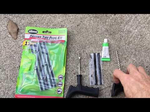 Slime Tire Plug 500 Mile Test