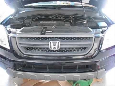 How to change transmission fluid on 2005 Honda Pilot