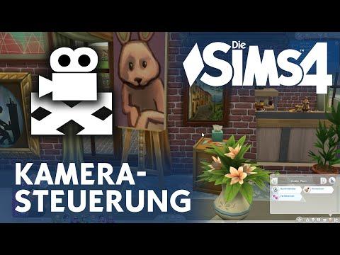 Die Sims 4 Kamera-Steuerung