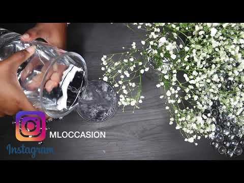 How To Make A Baby's Breath Floral Arrangement- DIY