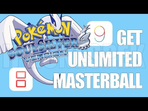 How to get Unlimited Masterball Pokemon Soul Silver iNDS iOS 11 10 9 iPhone iPad