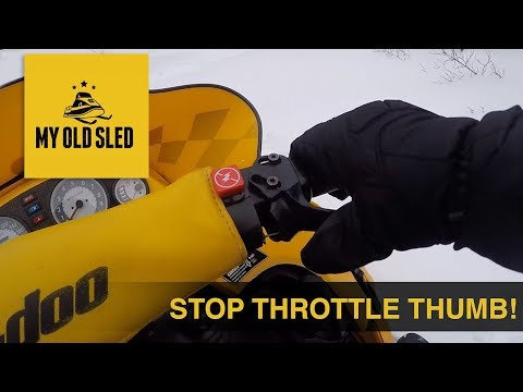 Tips & Products for Managing Throttle Thumb