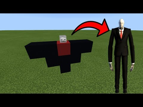 How To Spawn Slenderman in Minecraft Pocket Edition