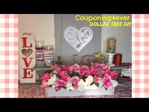 DOLLAR TREE DIY FAUX WOOD PLANTER & SIGN