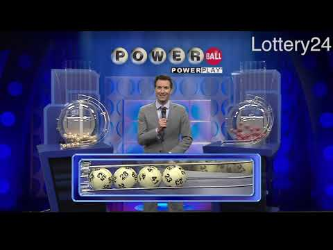 2018 06 06 Powerball Numbers and draw results