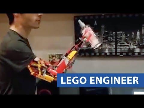 Teen Builds Prosthetic Arm
