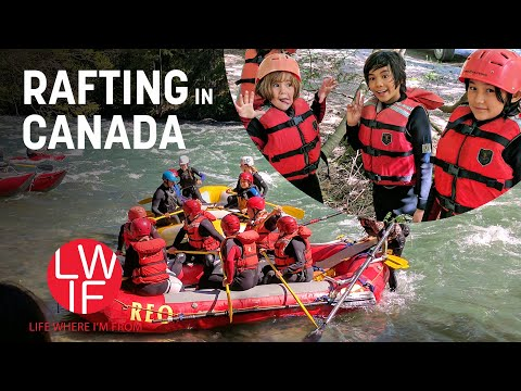 True Canadian Experience? Glamping & Rafting