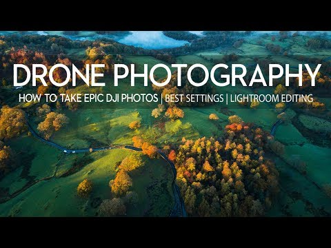 INSTANTLY improve your DRONE landscape photography | DJI mavic