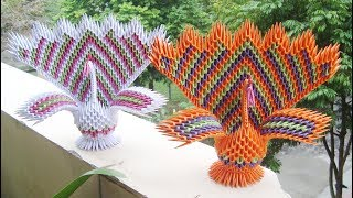 3d Origami peacock: Amazon.in: Home & Kitchen | 180x320