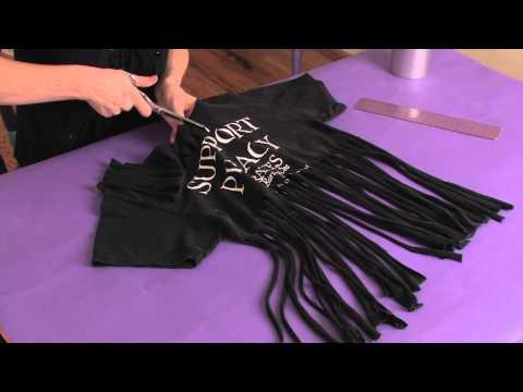 How to Cut a Zumba Shirt : Shirt Modifications