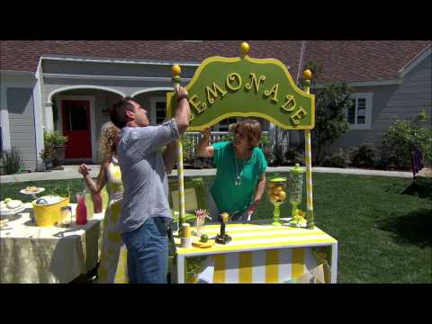 Home & Family - Tracy Metro builds a Lemonade Stand