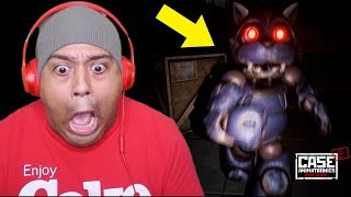 NEVER BEEN SO SCARED OF A CAT IN MY ENTIRE LIFE! [CASE ANIMATRONICS 2]