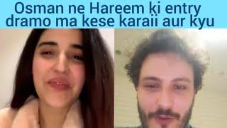 Osman Khalid Butt Got Hareem Farooq into Dramas | Interview/Podcast | InstaLive | NB Reviews