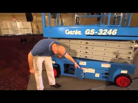 Genie GS3246 Scissor Lift