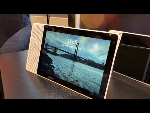 Lenovo Smart Display First Look CES 2018 - Google Home with a Screen!