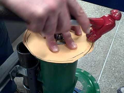Making a cardboard gasket in 6 minutes!