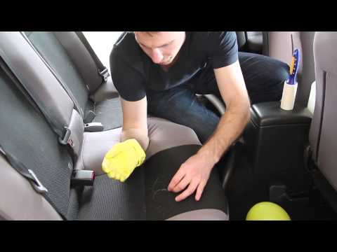 How to remove/get dog hair out of car!