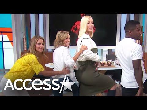 Xxx Mp4 Iggy Azalea Gives A Twerking Tutorial Amp Spills Details About Guys Sliding Into Her DM 39 S Access 3gp Sex