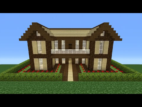 Minecraft Tutorial: How To Make A Wooden House - 16