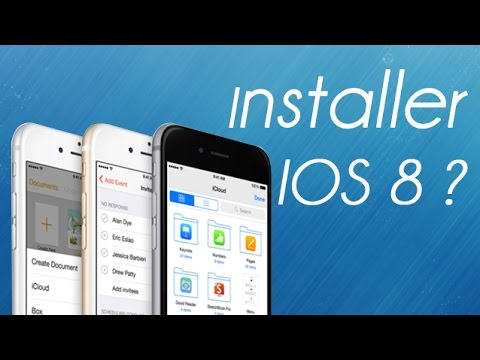 5 raisons d'installer IOS 8 - iPhone iPad iPod