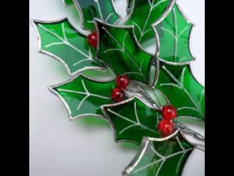 Glass christmas tree ornaments decorating ideas