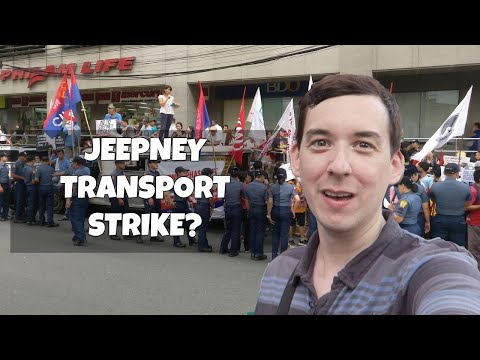 Piston Jeepney Phase Out Strike