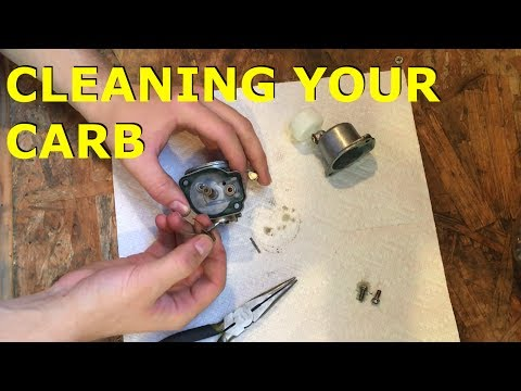How To Clean Motorized Bike Carburetor (MotoTOYS S1 E5)