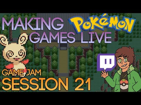 Making Pokemon Games Live (Game Jam Session 21)