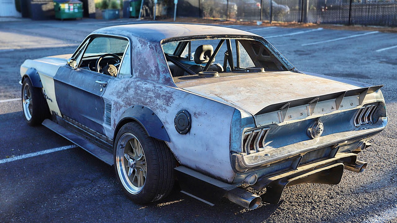 2016 to 1967 Mustang GT Body Swap is complete! Classic Looks with Coyote Power!