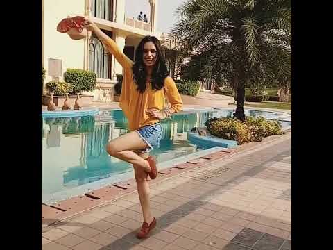manushi chhillar Miss world 2017 swimming pool dance