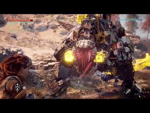 Horizon Zero Dawn: Sawtooth vs Thunderjaw