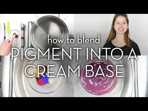 How to Blend Pigments into a Creamy Base for Lipstick & Eyeliner // Make it Up