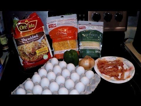 An 18 Egg Crock Pot Casserole Breakfast Omelette