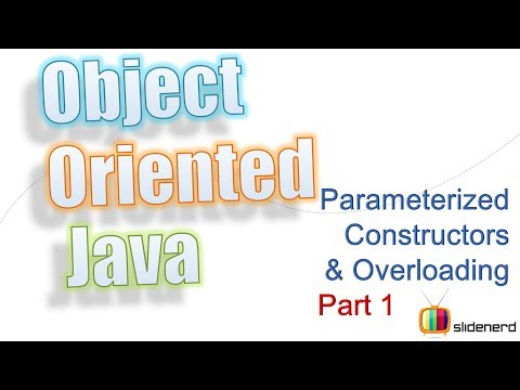 23 Java Constructor Overloading Theory |