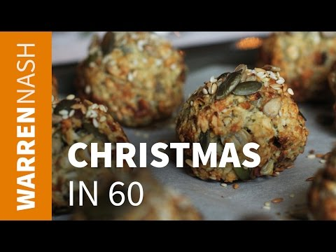 How to make Stuffing with Sausage - 60 second Christmas - Recipes by Warren Nash