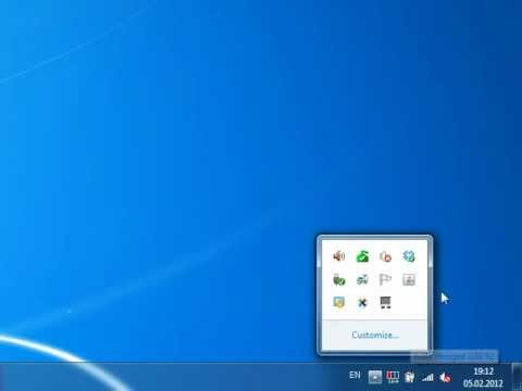 Keyboard LEDs - How to make notification icon always visible in Windows 7