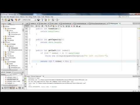 CMSC 251 - Binary Tree Implementations