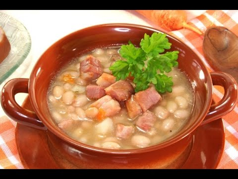 Bean and bacon soup recipe real simple