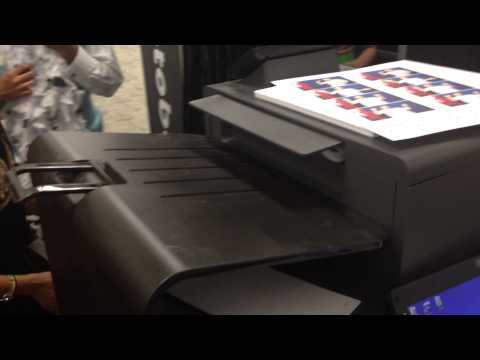 hp full page printer for photo booth usage