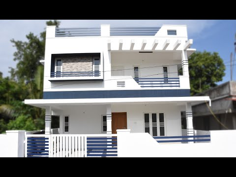 Aluva, 4.5 cents plot and 1800 sq ft, medium budget house for sale in Aluva, Athani, near CIAL