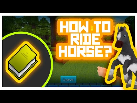 RealmCraft #GameTutorials - How to ride? (Horse riding)
