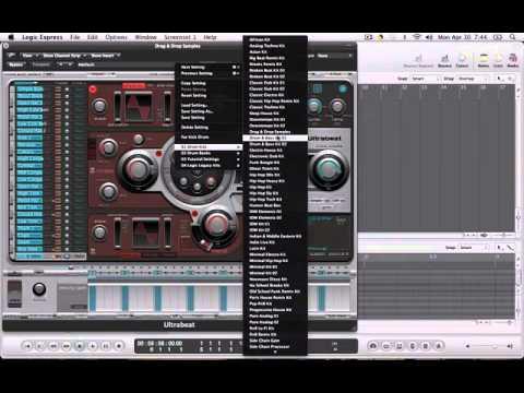 Logic 9 Drum Samples Tutorial (Free Sample Pack!)