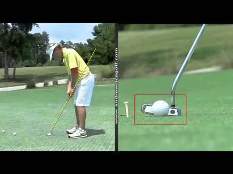 How to Set Up to the Putter Correctly