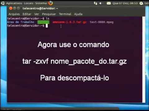 Instalando Pacotes .tar.gz no Ubuntu