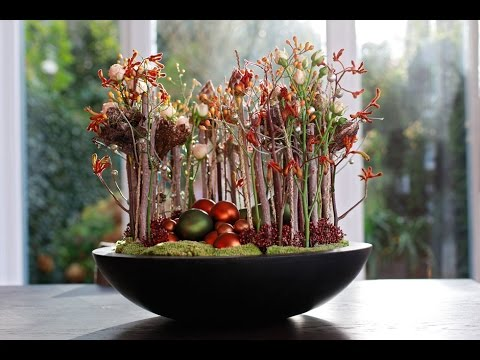 Floral Christmas Decoration, Full how to make tutorial