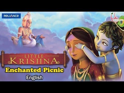 Birth Of Krishna Karadi Tales English Part 1 Kids Animation Stories