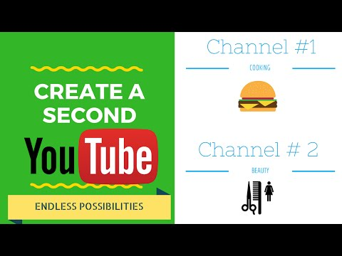 How to Create a Second Youtube Channel 2016 Quick Tutorial